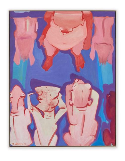 Die Diktatoren (The Dictators) by Maria Lassnig contemporary artwork