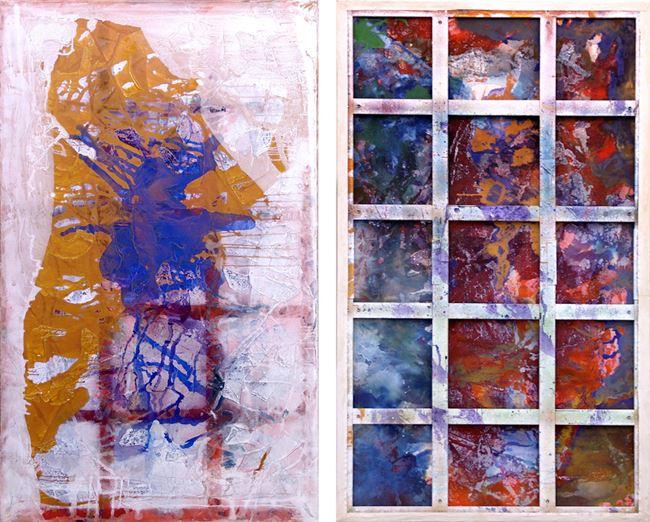 Phigor by Dona Nelson contemporary artwork