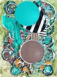 Gager Vert (aka DC Eye) by Robert Reed contemporary artwork mixed media
