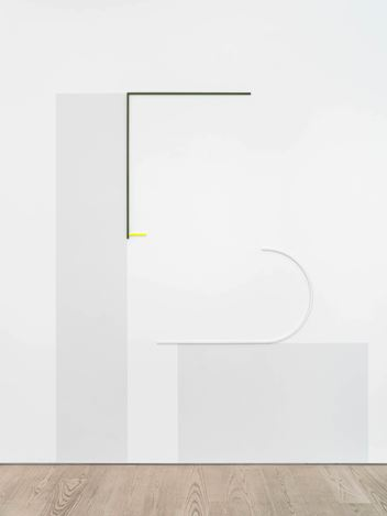 Exhibition view: José León Cerrillo, The Commands (switch between), Andréhn-Schiptjenko, Stockholm (20 August–26 September 2020). Courtesy Andréhn-Schiptjenko, Stockholm, Paris.Photo: Jean-Baptiste Beranger.