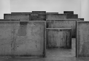 Intervals by Richard Serra contemporary artwork