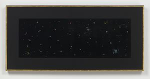 Black Velvet Study #3 by Mike Kelley contemporary artwork