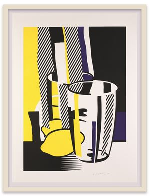 Before the Mirror by Roy Lichtenstein contemporary artwork