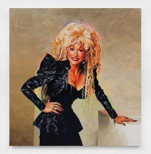 Dolly Parton by Sam McKinniss contemporary artwork