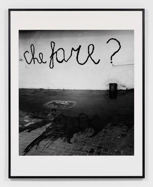 Mario Merz. Che Fare? by Claudio Abate contemporary artwork