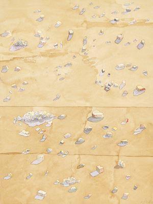 Traces I by Clive Van Den Berg contemporary artwork
