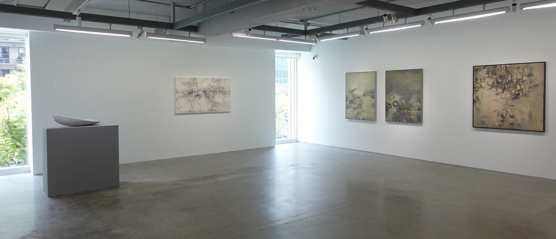 Exhibition view: Group exhibition, Lineage 2021,Double Square Gallery, Taipei (1 May–12 June 2021).Courtesy Double Square Gallery.