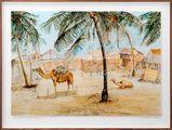 Postcards from Africa: Afrique Occidentale - Senegal - Saint Louis. Un Coin de Guet N'Dar by Sue Williamson contemporary artwork 1