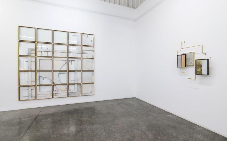 Exhibition view: Ishmael Randall Weeks,Boundary Space, Lawrie Shabibi, Dubai (22 March–27 May 2021). Courtesy Lawrie Shabibi.