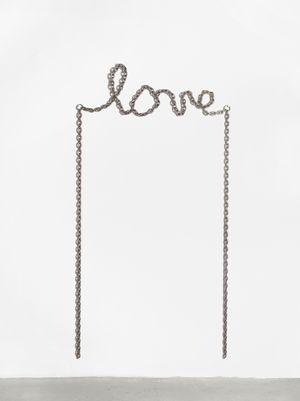 Love by Monica Bonvicini contemporary artwork