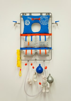 Life Line - Survival Kit by Lucy + Jorge Orta contemporary artwork