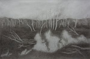 Flamme by Li Donglu contemporary artwork