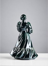 Coalport 1995 Ladies Of Fashion, Wendy USED by Jessica Harrison contemporary artwork sculpture