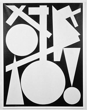 fin by Auguste Herbin contemporary artwork