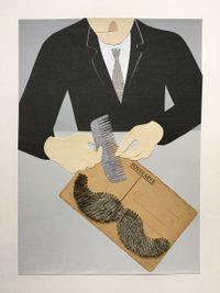 Postkarte by Gavin Hurley contemporary artwork works on paper