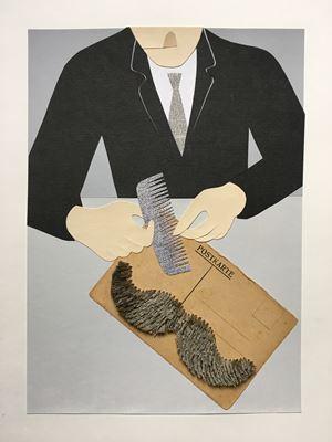 Postkarte by Gavin Hurley contemporary artwork