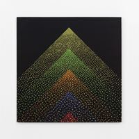 Alchimie 374 by Julio Le Parc contemporary artwork painting