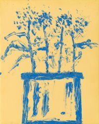 Jardins 14 by Etel Adnan contemporary artwork painting