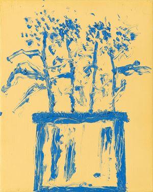 Jardins 14 by Etel Adnan contemporary artwork