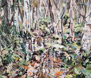 Lachlan Swamp by Oliver Watts contemporary artwork