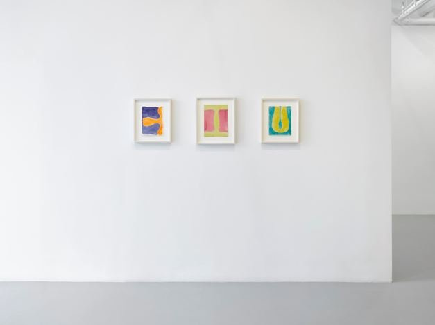 Exhibition view: Group Exhibition,Aspects of Abstraction, Lisson Gallery, New York (23 June – 11 August 2017). Courtesy Lisson Gallery, New York.