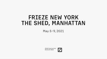 Contemporary art exhibition, Frieze New York 2021 at Pace Gallery, New York