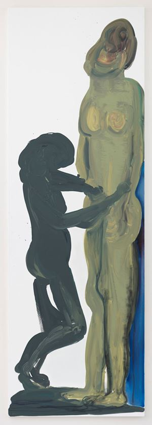 The Making of by Marlene Dumas contemporary artwork painting, works on paper