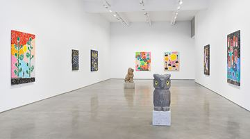Contemporary art exhibition, Olaf Breuning, RAIN at Metro Pictures, New York