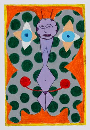 Untitled (moth) #34 by Brendan Huntley contemporary artwork