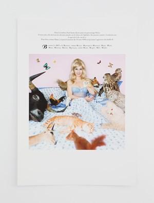 Des journees entieres sous le signe du B, du C, du W (FR) * by Sophie Calle contemporary artwork