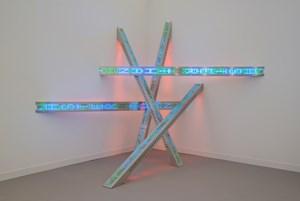 All Fall by Jenny Holzer contemporary artwork