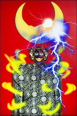 Ishvara Portrait - Igor by Tianzhuo Chen contemporary artwork mixed media
