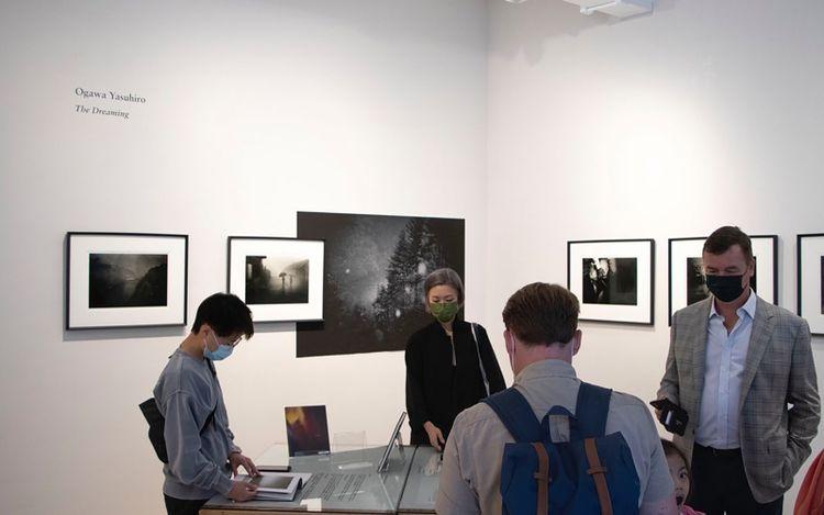 Exhibition view: Yasuhiro Ogawa, The Dreaming,Blue Lotus Gallery, Hong Kong (9 April–2 May 2021). Courtesy Blue Lotus Gallery.