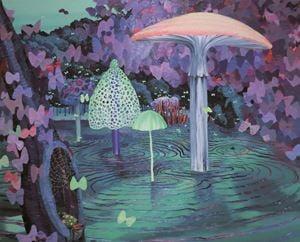 Moonlight Swamp by Eguchi Ayane contemporary artwork