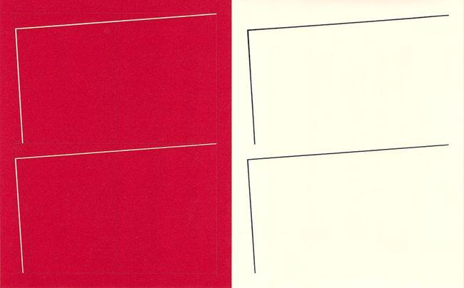 BW Photogram and Paper Negative 40 by Richard Caldicott contemporary artwork