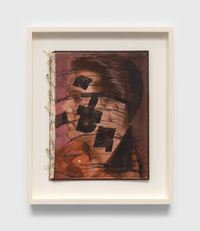Untitled (Elvis book) by Ray Johnson contemporary artwork works on paper, photography, print