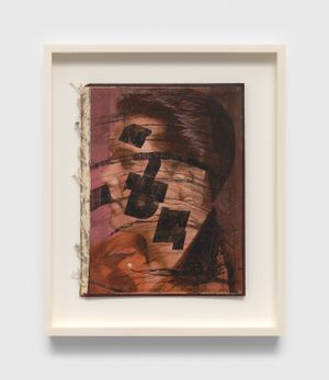 Untitled (Elvis book) by Ray Johnson contemporary artwork