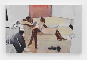 Untitled by Noah Davis contemporary artwork