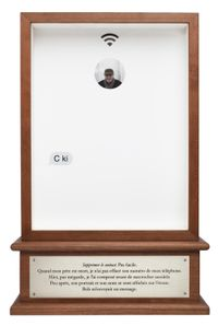 C ki (Who r u) by Sophie Calle contemporary artwork sculpture