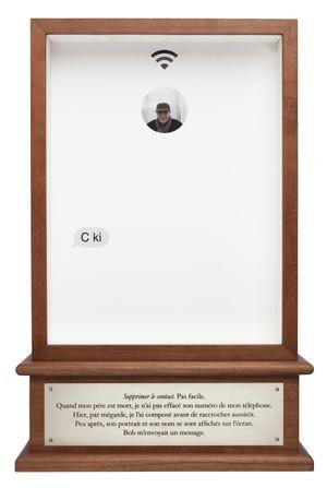 C ki (Who r u) by Sophie Calle contemporary artwork