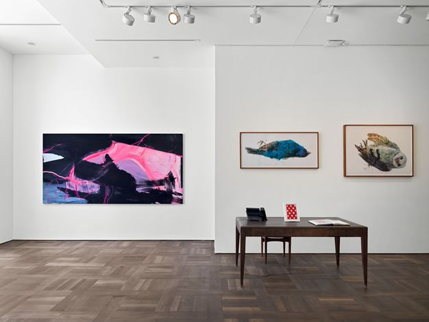 Exhibition view: Group Exhibition, Material Actions, Hauser & Wirth, St. Moritz (7 July–8 September 2019). © The artist / estate. Courtesy the artist / estate and Hauser & Wirth.