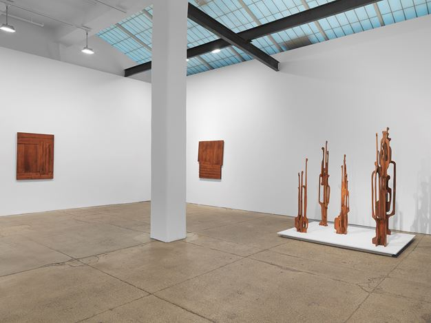 Exhibition view: Mildred Thompson,Throughlines: Assemblages and Works on Paper from the 1960s to the 1990s, Galerie Lelong & Co., New York (18 February–27 March 2021). Courtesy Galerie Lelong.