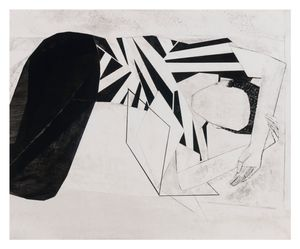 Woman/folded by Iris Schomaker contemporary artwork