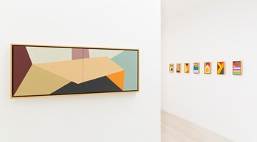 Contemporary art exhibition, Louise Tuckwell, Paintings & Tapestries at Gallery 9, Sydney
