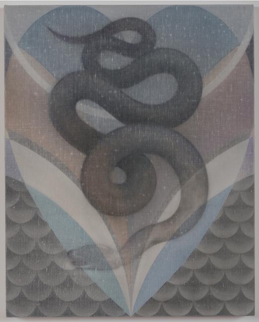 The Snake, No.2 by Theodora Allen contemporary artwork