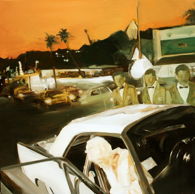 The same gorgeous scene in different night by Zou Sijin contemporary artwork