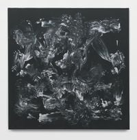Action Painting 6 by Mark Wallinger contemporary artwork painting