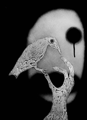 You cannot come back by Roger Ballen contemporary artwork