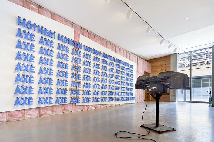 Exhibition view: Sean Shim-Boyle, Jack, Jane Lombard Gallery, New York (5 April–12 May 2018). Courtesy Jane Lombard Gallery.