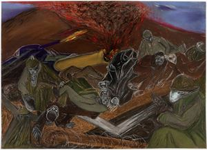 WAR 1914–1918 by Jacqueline de Jong contemporary artwork